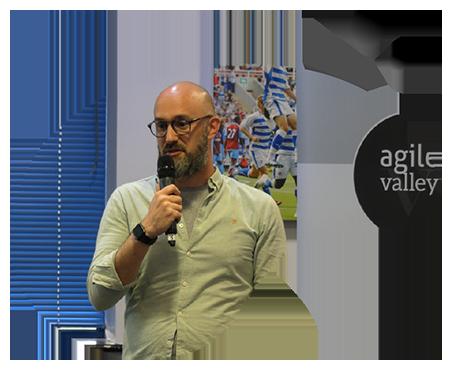 Agile Valley Speaker in Bubble