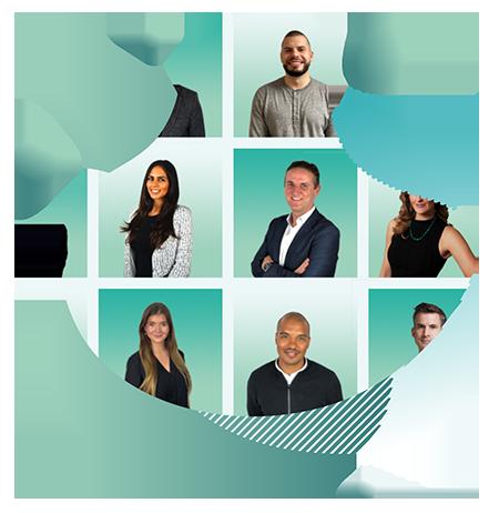 Staff in digital cloud