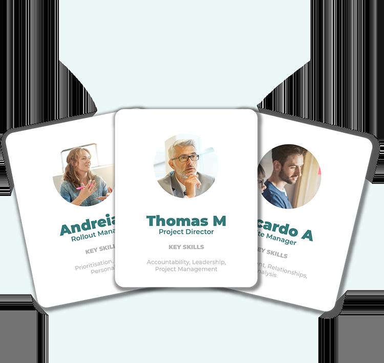 Team cards telecoms